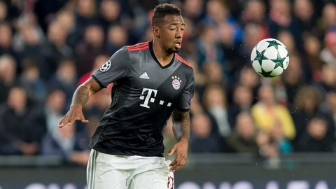 Defender: Jerome Boateng (Bayern Munich/Germany)