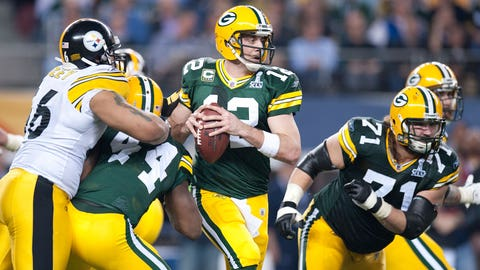 Super Bowl XLV: Aaron Rodgers vs. Ben Roethlisberger