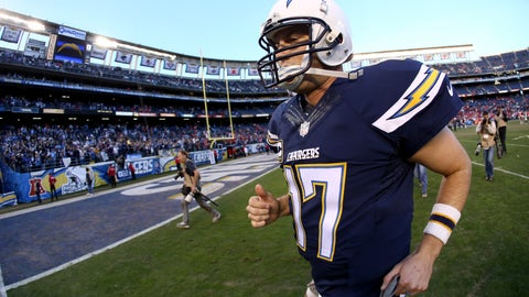 Philip Rivers - 250 points
