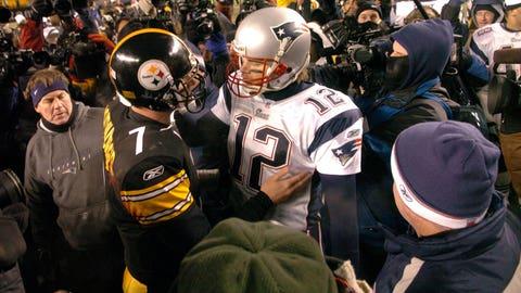2004: Patriots 41, Steelers 27