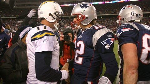 2007: Patriots 21, Chargers 12