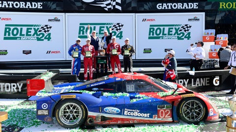 2015: No. 02 Chip Ganassi Racing with Felix Sabates