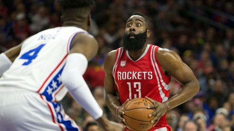 James Harden: 51 at 76ers (1/27/17)