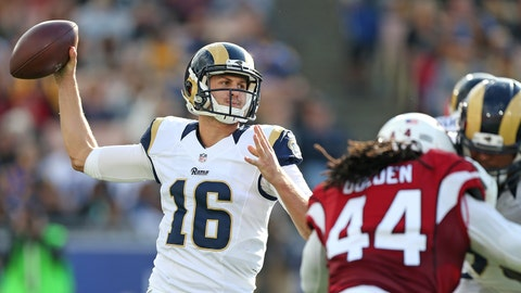 Jared Goff, Rams
