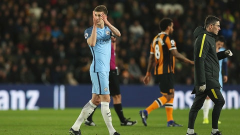 Manchester City: Fortify the defense