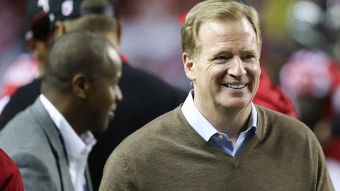 Goodell reveals whether he's bothered by the perception of him among Patriots fans