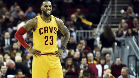 Skip: LeBron has been underperforming late in games