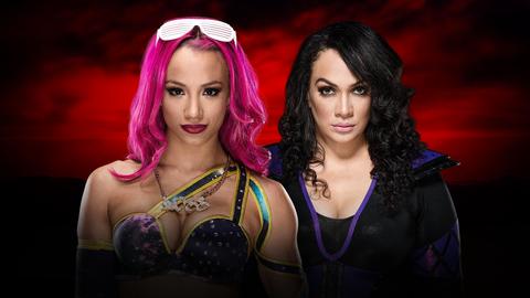 Kickoff show: Sasha Banks vs. Nia Jax