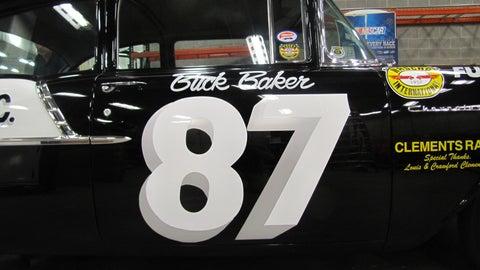 "Buck Baker's 1957 Chevrolet 150 ""Black Widow"""