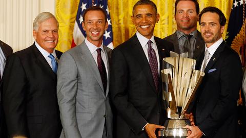 2014 Jimmie Johnson NASCAR Sprint Cup Series champion