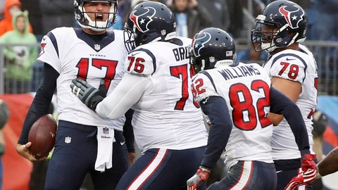 Houston Texans: +3750 (75/2)