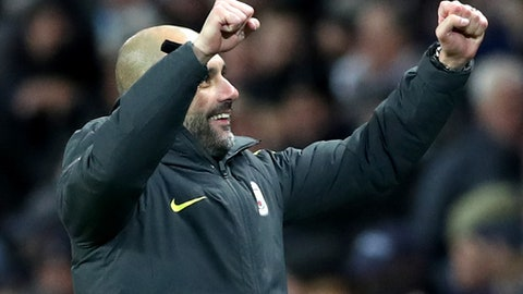 Manchester City — Pep Guardiola's hunger to deliver