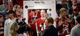 PHOTO GALLERY: Clemson, 'Bama joke around before final preps