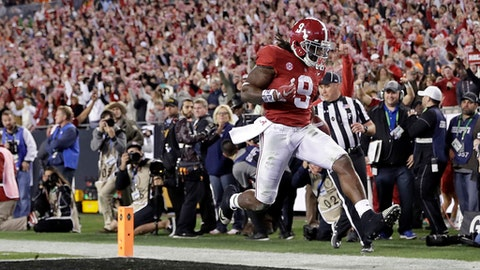 'Bama will have the best running game in college football