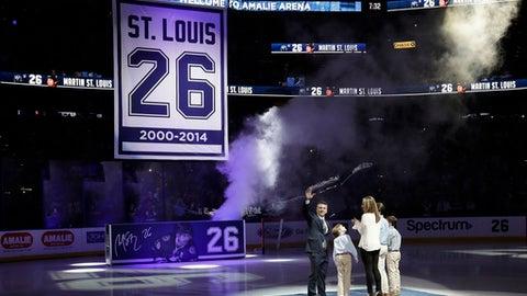 Jan. 13; Martin St. Louis honored