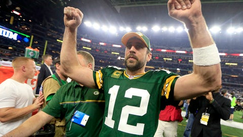 PACKERS over PATRIOTS: +675 (27/4)