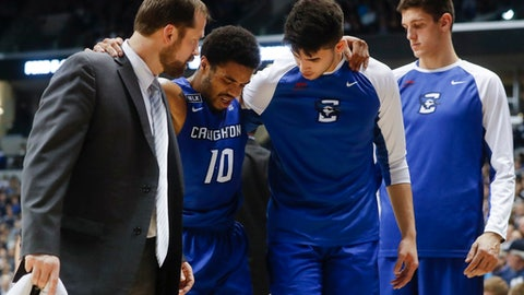 Will Creighton and Xavier ever get over their injury woes?