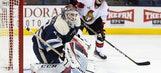 Resilient goalie Bobrovsky leads Blue Jackets' resurgence