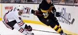 Blackhawks beat Bruins 1-0 on Marian Hossa's late goal (Jan 20, 2017)