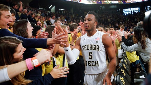 But Georgia Tech is the biggest shocker of the season