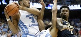 No. 12 UNC holds on to beat Pitt, 80-78