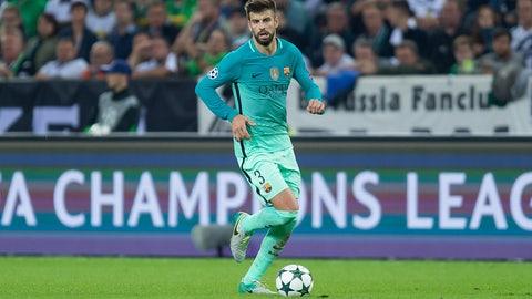 Defender: Gerard Pique (Barcelona/Spain)