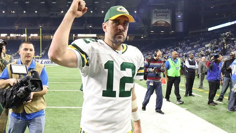 Aaron Rodgers - 365 points