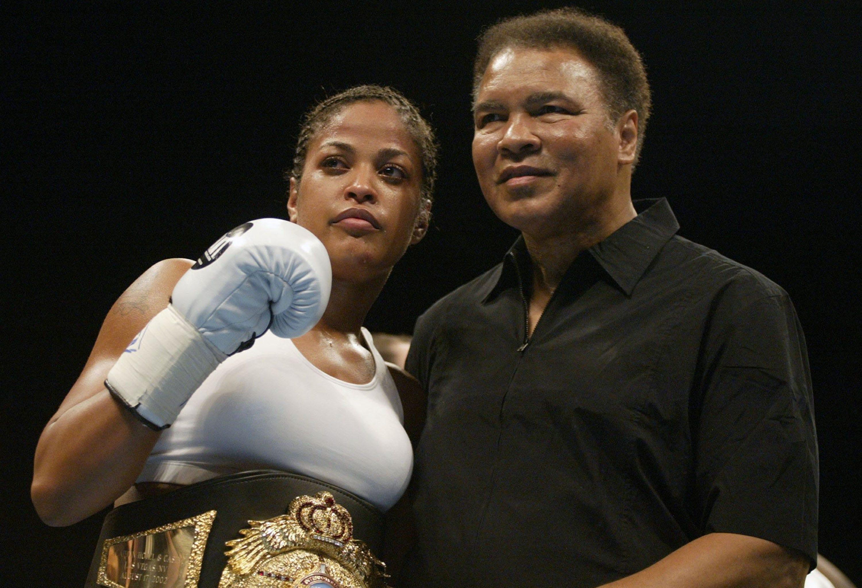Kết quả hình ảnh cho Laila Amaria Ali Boxing