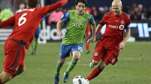 May 6: Seattle Sounders vs. Toronto FC