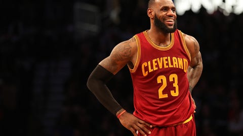 LeBron James is absolutely on cruise control until the Finals