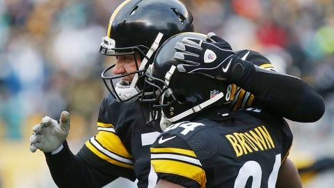 Shannon Sharpe: Antonio Brown made the Steelers' win about him