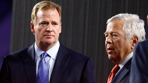 Goodell explains his working relationship with Patriots owner Robert Kraft
