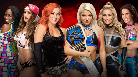Kickoff show: Becky Lynch, Naomi and Nikki Bella vs. Alexa Bliss, Natalya and Mickie James in a 6-woman tag team match