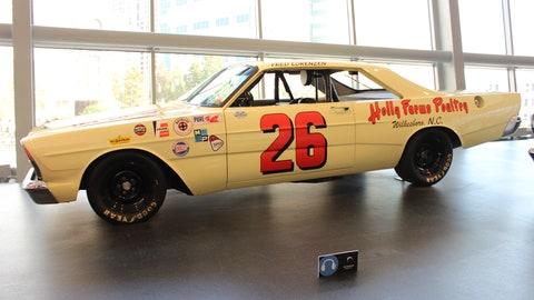 "Fred Lorenzen's 1966 Ford Galaxie ""Banana Car"""