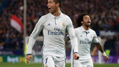 Forward: Cristiano Ronaldo (Real Madrid/Portugal)