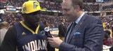 Robert Mathis: 'I'm a true Pacers fan'