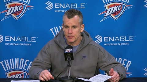 Billy Donovan, Oklahoma City Thunder: B
