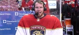 James Reimer says Panthers teammates made him look good in victory