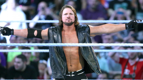 Fox Sports: Kurt Angle, someone who you have a lot of history with, is going in the Hall of Fame, and he said that if he were to come back, he'd like to face AJ Styles.