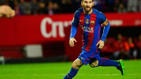 Forward: Lionel Messi (Barcelona/Argentina)