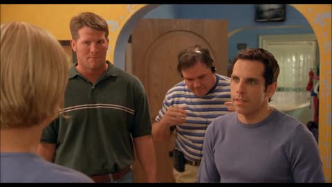 Brett Favre in 'There's Something About Mary'