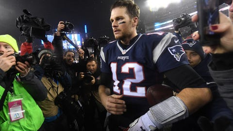 Shannon: Tom Brady will have to respond to his father's comments all week long