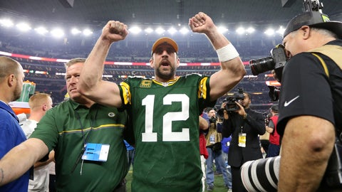 Skip: Rodgers has the benefit of multiple options downfield