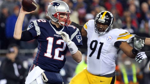 Tom Brady playing like he did against the Steelers