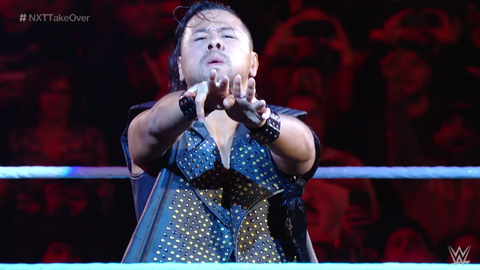 Shinsuke Nakamura debuts at the Royal Rumble