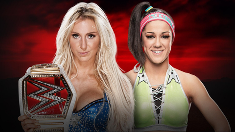 Charlotte vs. Bayley for the Raw Women's Championship
