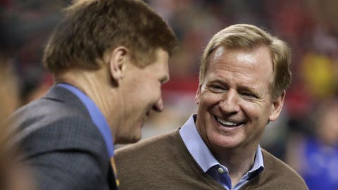 Goodell on whether he thinks the NFL should loosen its stance on marijuana