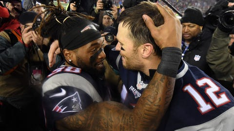 Shannon: Brady benefits from his defense, and the Patriots were simply following the gameplan.