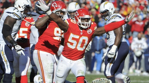 The Chiefs are getting back key players on both sides of the ball