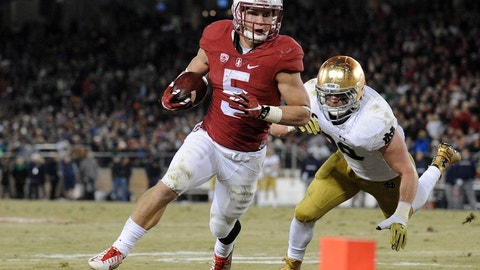 Christian McCaffrey, RB, Stanford (class of 2014)